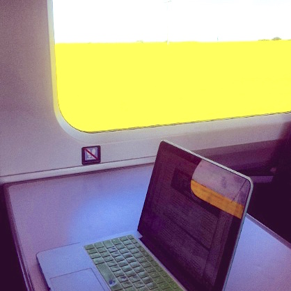 Margate yellow field from train laptop pic HDH