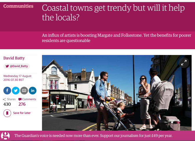 HDH Guardian seaside towns regen article screen shot